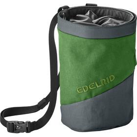 Edelrid Splitter Twist Sacchetto porta magnesite, verde/grigio